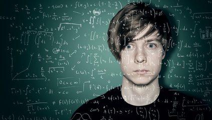 élève terrifié par les Maths